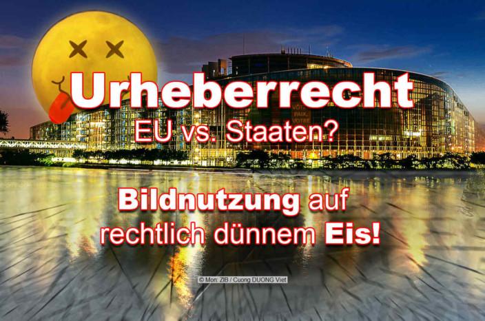 EU Urheberrecht Abmahnung Bildnutzung