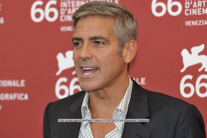 George Clooney   Foto: nicolas genin from Paris, France, via Wikimedia Commons