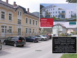 Die 3 Prym Häuser werden durch 2 Neubauten ersetzt