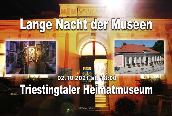 Lange Nacht der Museen im Triestingtaler Heimat- und Regionalmuseum